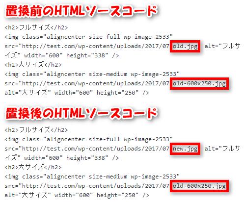 WordPressプラグイン「Enable Media Replace」でファイル名の更新をした場合
