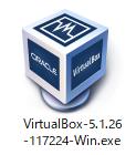 Windows用のVirtualBoxインストーラー