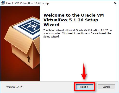 Windows用のVirtualBoxインストール手順1